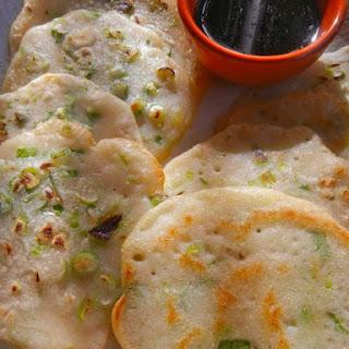 Gluten-free Scallion Pancakes.