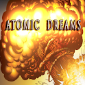 ATOMIC DREAMS The Lost Journal logo