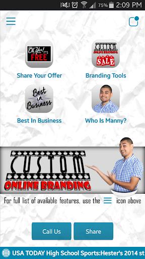 Custom Online Branding