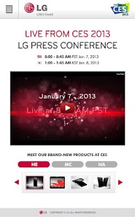LG CES - screenshot thumbnail