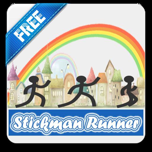 Stickman Runner Jump