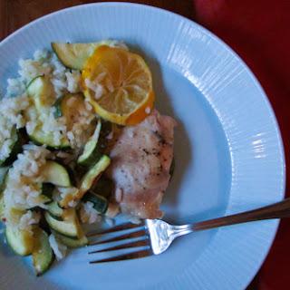 One-Pot Lemon Chicken and Zucchini