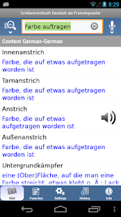 German Learner's Dictionary - screenshot thumbnail