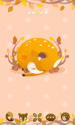 FREE Dear Deer GO Theme
