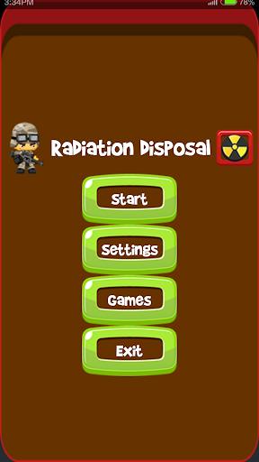 Radiation Disposal