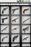 Screenshot of Gun's & Pistol Sound