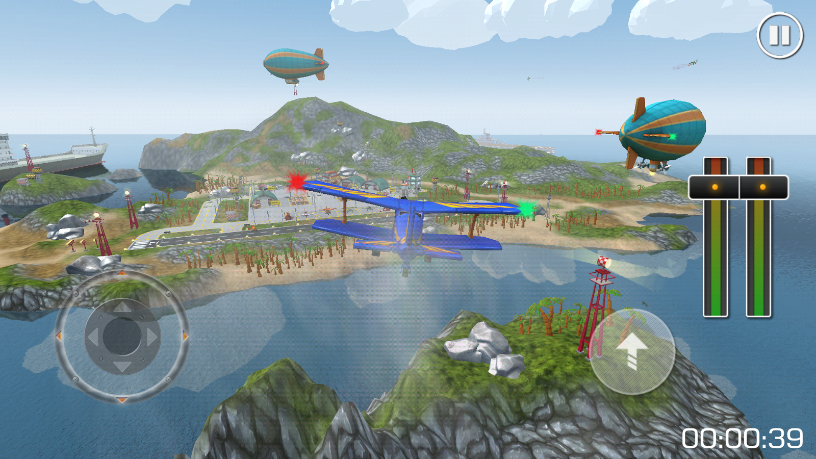 Flight Sim Island Airport- screenshot