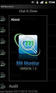 Restaurant Managers RM Monitor- screenshot thumbnail