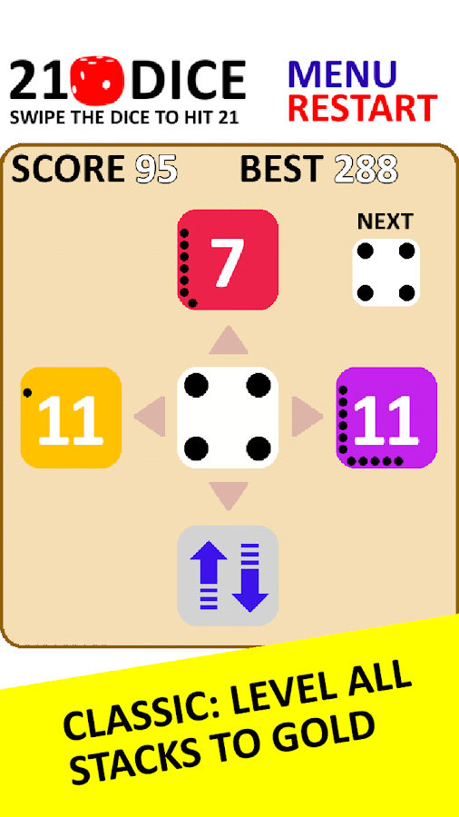 21 Dice- screenshot