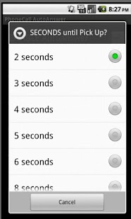 PhoneCall Auto Answer Manager- screenshot thumbnail