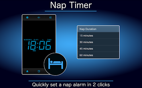 Digital Alarm Clock - screenshot thumbnail