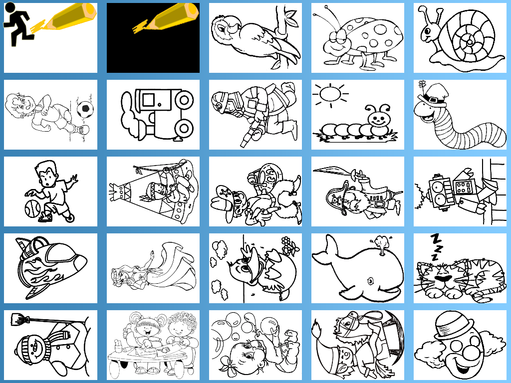 Kids Paint Coloring Free Screenshot