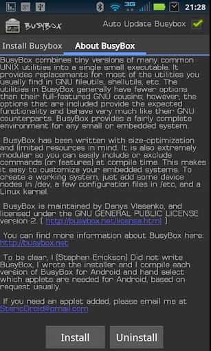 BusyBox Pro  screenshots 1