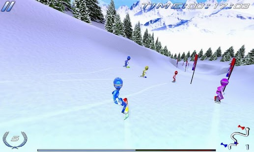 Snowboard Racing Ultimate Free- screenshot thumbnail