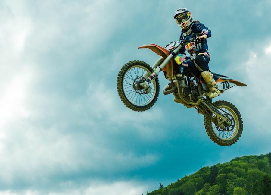 high by Teodora Iacob - Sports & Fitness Motorsports ( field, motocross, boy,  )