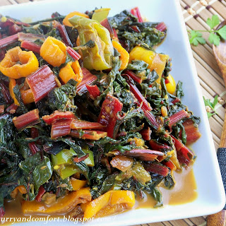 Curried Swiss Chard Recipe