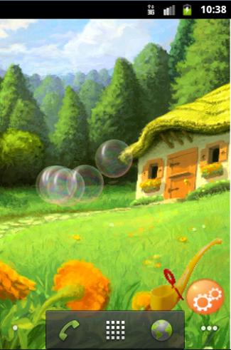 Blow Soap Bubbles LWP