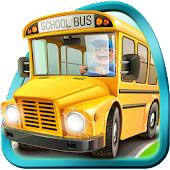 Kids Cars : Toy Bus Parking