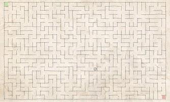 Screenshot of Scribble Maze