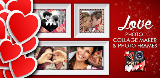 best love photo collage with lovely frames apps on google play