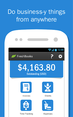 FreshBooks Classic Screenshot