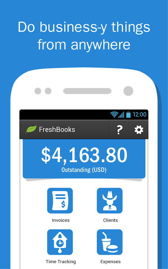 FreshBooks Classic- screenshot