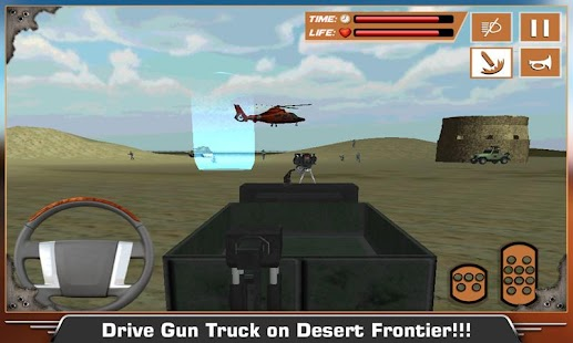 Desert-Military-Base-War-Truck 2