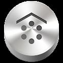 3D Silver Smart Launcher Theme