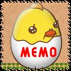 Memo Pad Mukitamago Full Ver. icon