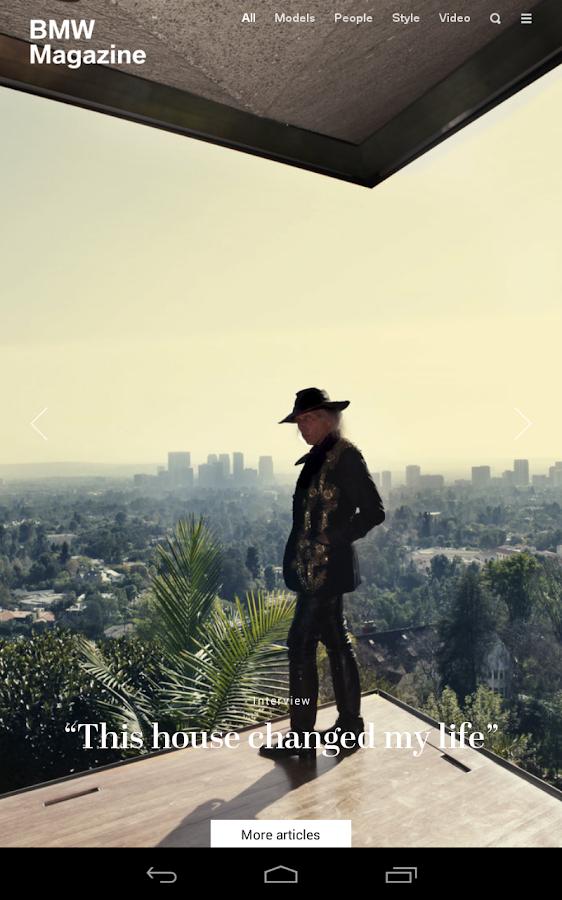 BMW Magazine - screenshot