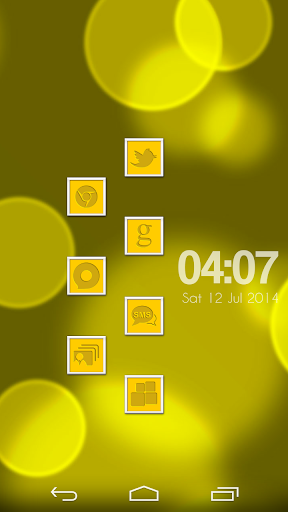 VM10 Yellow Icon Set