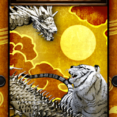 Tiger & Gold Dragon