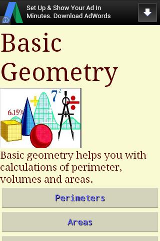 Basic Geometry 3.1 screenshots 1