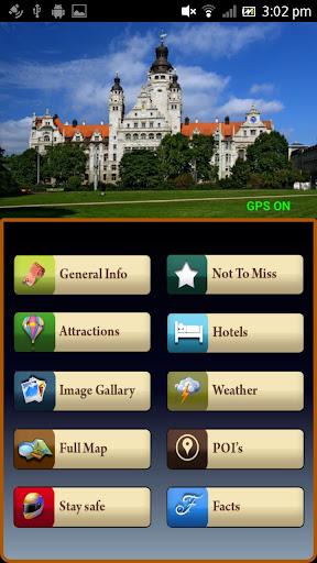 Leipzig Offline Travel Guide