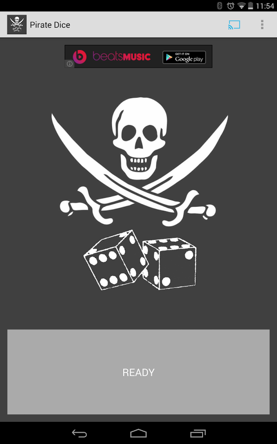 Pirate Dice for Chromecast- screenshot