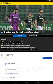 BBC Sport Screenshot 26
