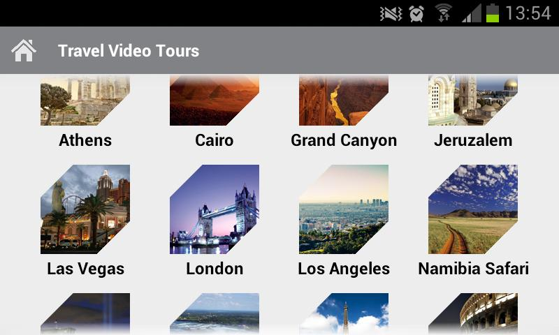 Travel Video Tours - screenshot