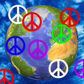 Peace Sign Colors Live