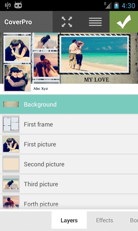 Love - CoverPro Template - screenshot
