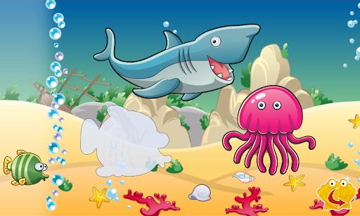 ベビーパズル:赤ちゃんの魚