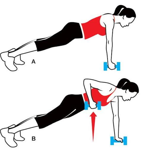 女性のための腕のトレーニング