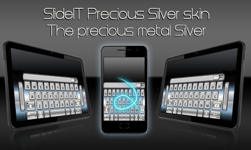 SlideIT Precious Silver Skin