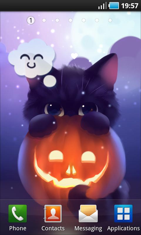 Halloween Kitten- screenshot