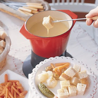 Cheese Fondue.