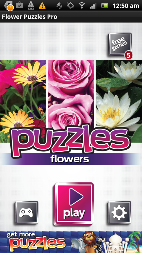 Flower Puzzles - FREE Game - screenshot