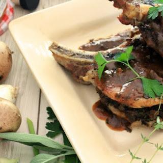 Preserves and Port Mushroom Sauce