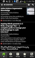 Screenshot of Telugu Movie Dialogues తెలుగు