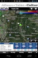 Screenshot of WTVA Weather