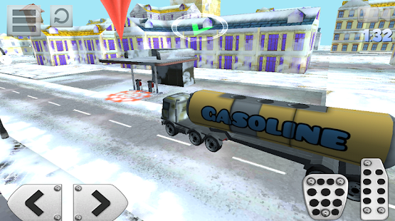 Christmas Snow Truck Driving- screenshot thumbnail