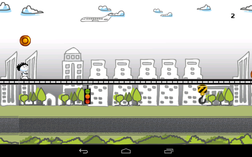 無料街机Appの落書きストリートラン 記事Game